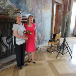50 let ve školství - rozloučení s Ing. Šerpánovou